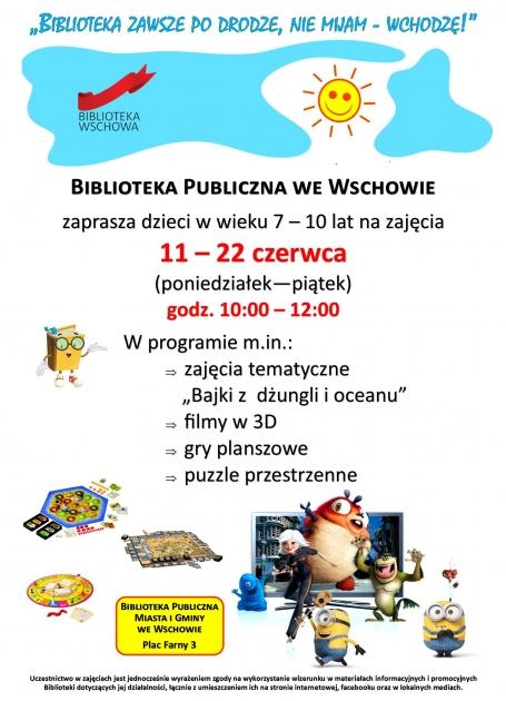plakat tekstowy informacyjny