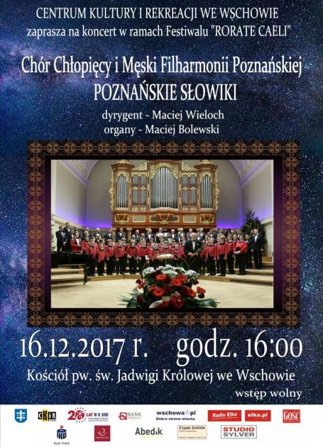 plakat ze zdjęciem Poznańskich Słowików