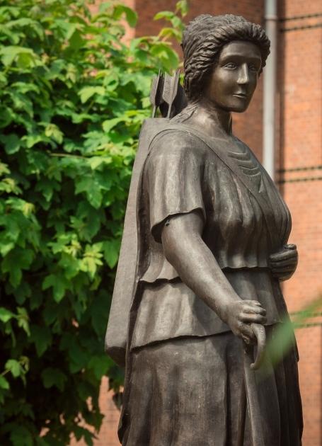 Fotografia pomnika Diany