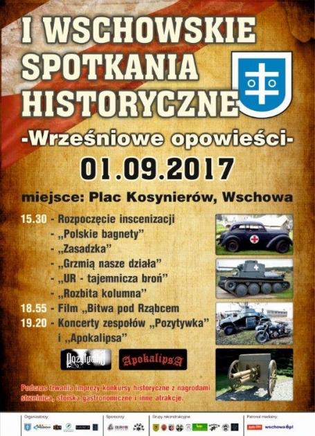 Plakat I Wschowskich Spotkań Historycznych