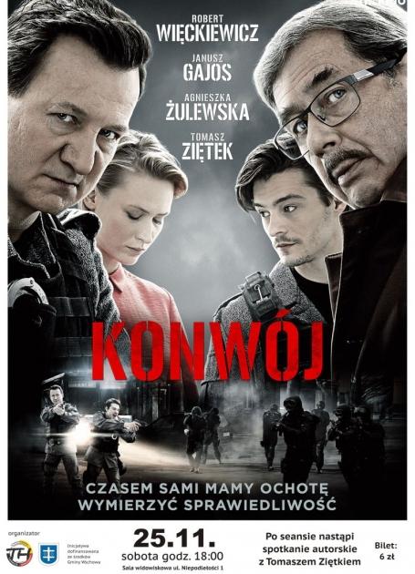 plakat filmowy ze zdjęciami aktorów