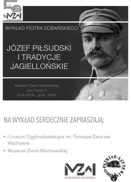 plakat z Józefem Piłsudskim