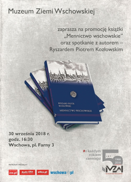 plakat z okładką książki