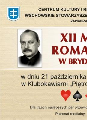 plakat ze zdjęciem Romana Rożko