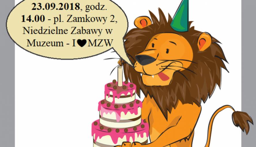grafika lwa z tortem