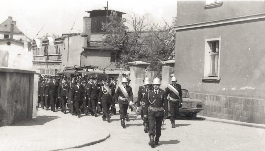 stare zdjęcie strażaków