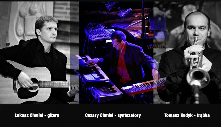 zdjęcia trzech muzyków