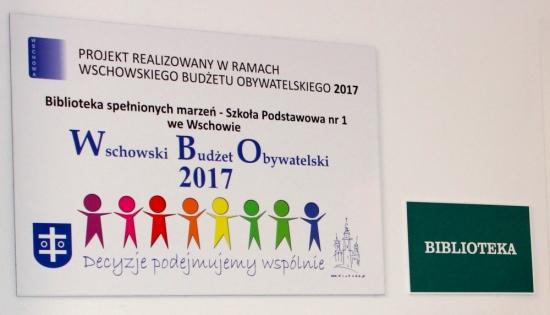 tablica WBO z nazwą projektu