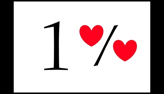 logo 1 procent