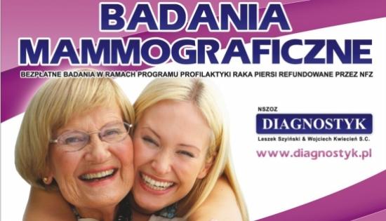 plakat informacyjny z dwoma uśmiechniętymi kobietami