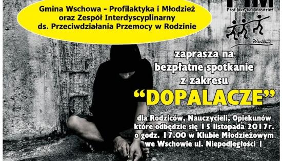 """Plakat """"Dopalacze"""""""