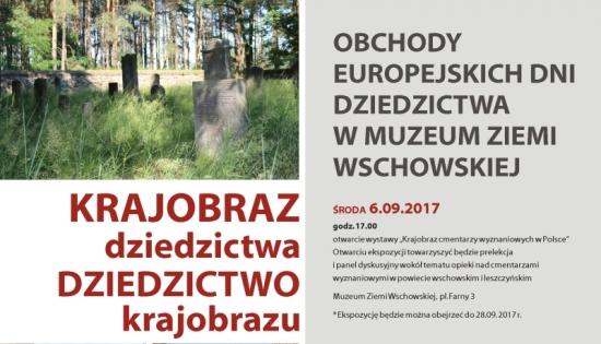 plakat na wschowskie dni dziedzictwa