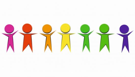 kolorowe ludziki