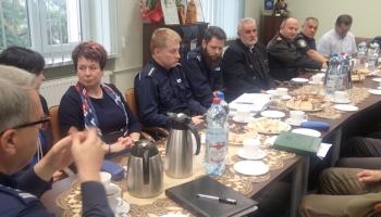 spotkanie słuzb mundurowych