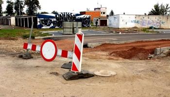 zakaz wjazdu na ulicę kamienną