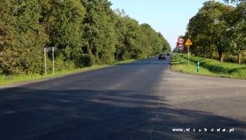 nowa nawierzchnia na drodze krajowej nr 12