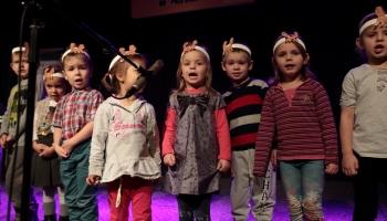 śpiewające przedszkolaki