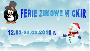 plakat zimowy z bałwanem