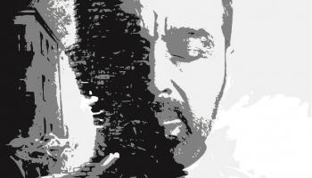 plakat informacyjny z grafiką człowieka