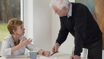 Małżeństwo seniorów
