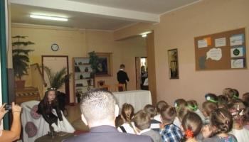 przedstawienie wykonane przez uczniów