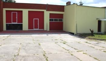 budynek nowej remizy OSP w Osowej Sieni