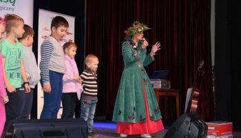 Justyna Tomańska z dziećmi