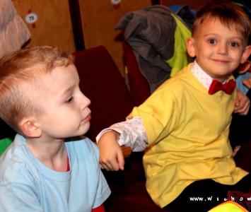 dwóch chłopców