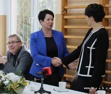 pani parszałek gratuluje pani burmistrz