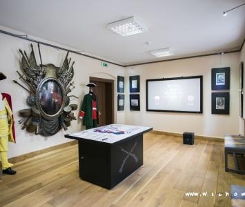 sala muzeum ziemi wschowskiej z bitwą pod wschową